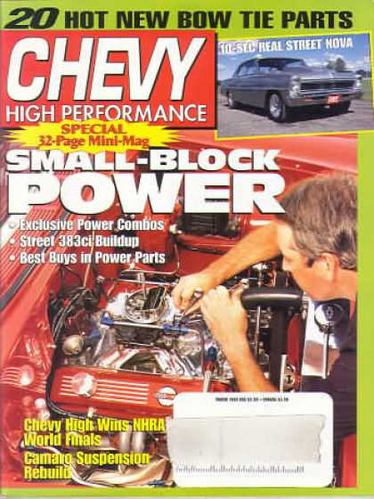 Chevy High Performance - March 1998