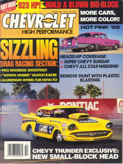 Chevy High Performance - October 1989
