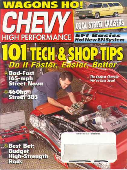 Chevy High Performance - May 1998