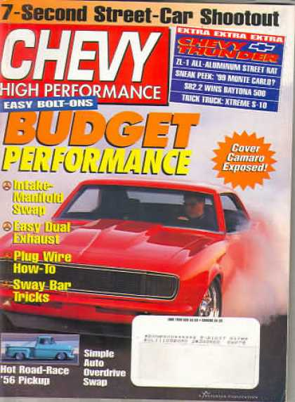 Chevy High Performance - June 1998