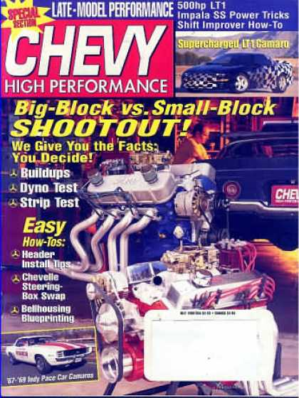 Chevy High Performance - July 1998