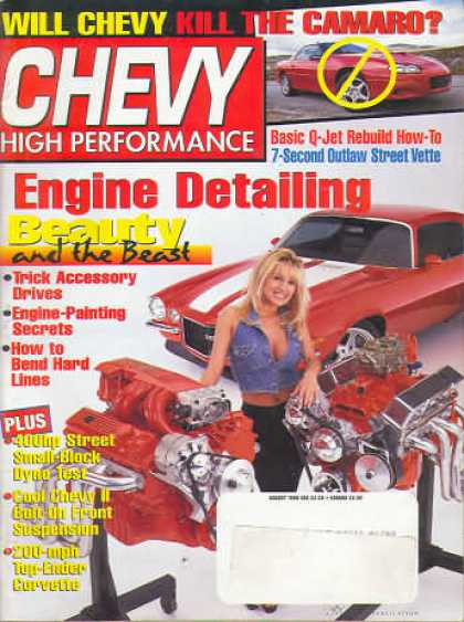 Chevy High Performance - August 1998