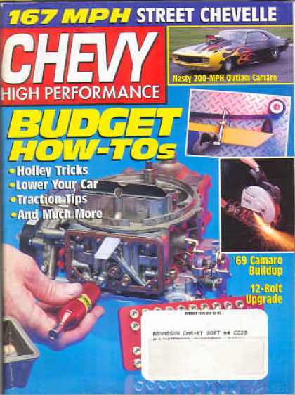 Chevy High Performance - October 1998