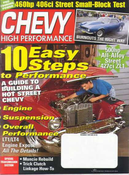 Chevy High Performance - November 1998