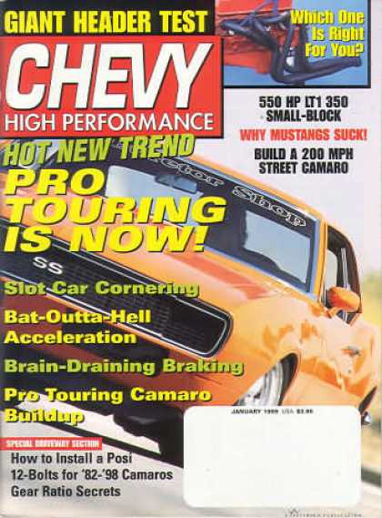 Chevy High Performance - January 1999