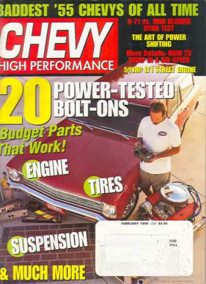 Chevy High Performance - February 1999