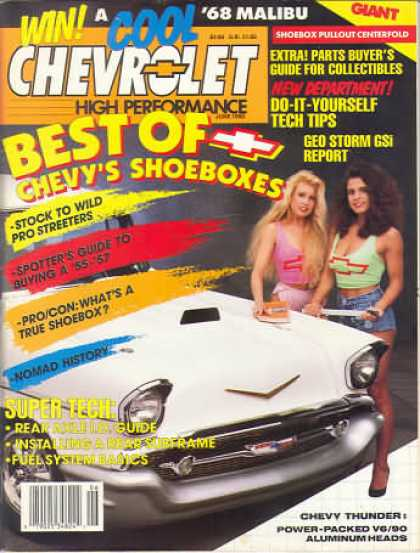 Chevy High Performance - June 1990