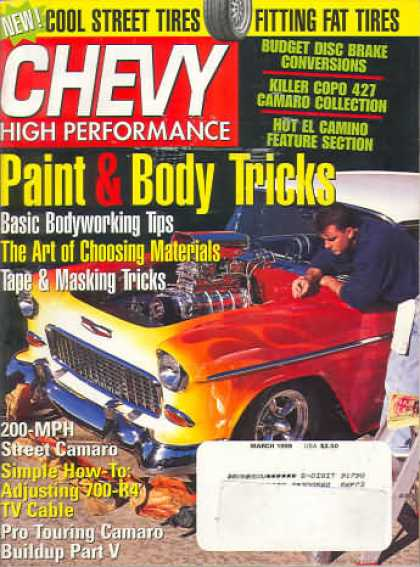 Chevy High Performance - March 1999