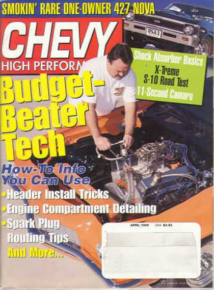Chevy High Performance - April 1999