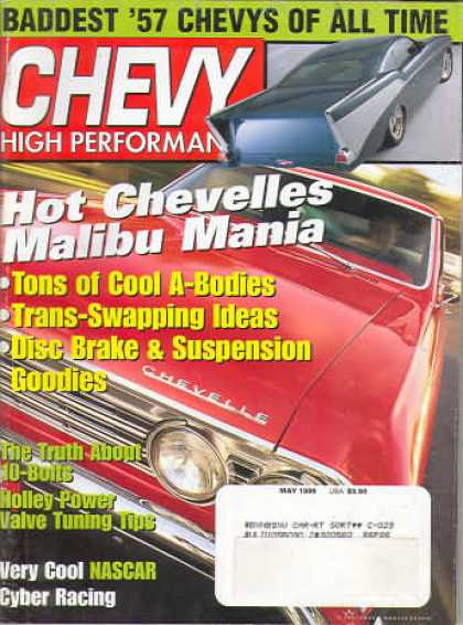 Chevy High Performance - May 1999