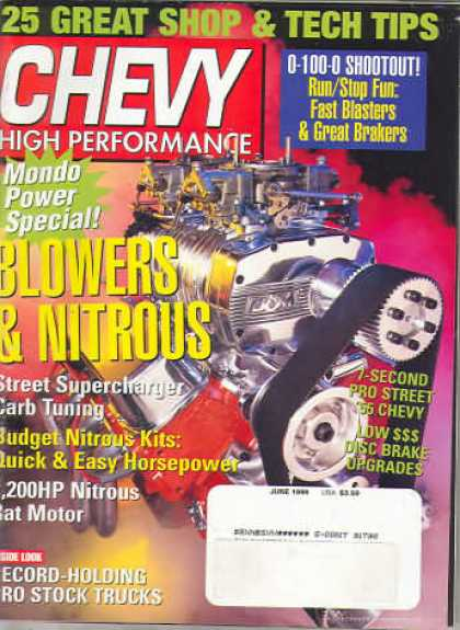 Chevy High Performance - June 1999
