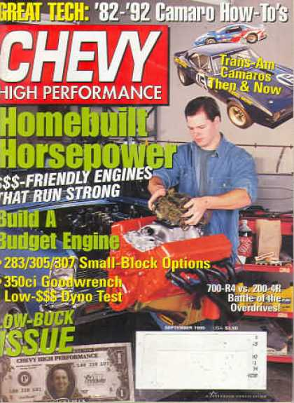 Chevy High Performance - September 1999
