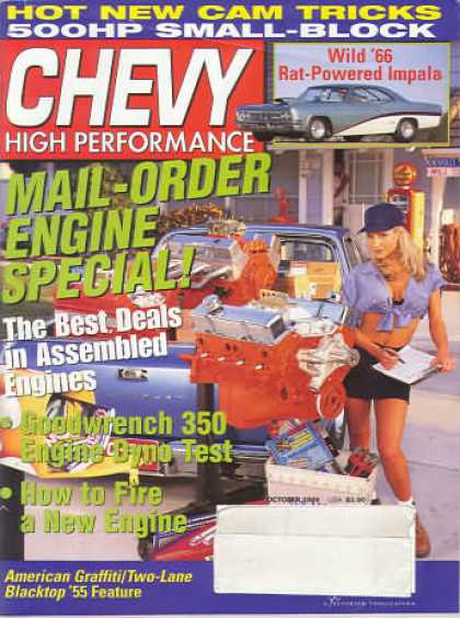 Chevy High Performance - October 1999