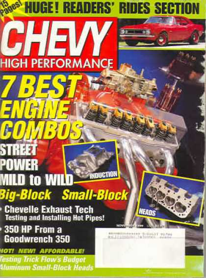 Chevy High Performance - November 1999