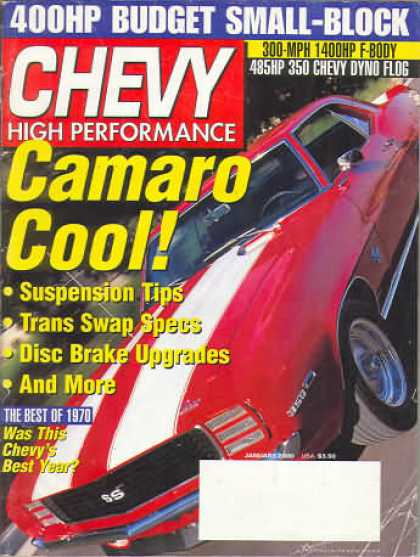 Chevy High Performance - January 2000