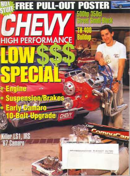 Chevy High Performance - February 2000