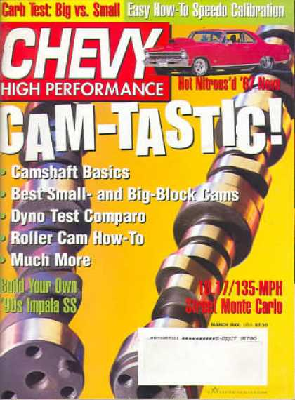 Chevy High Performance - March 2000