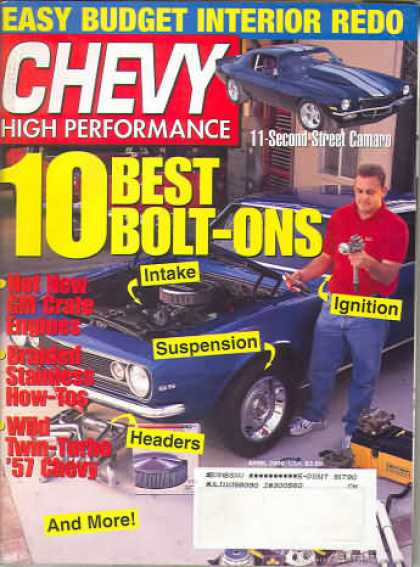 Chevy High Performance - April 2000