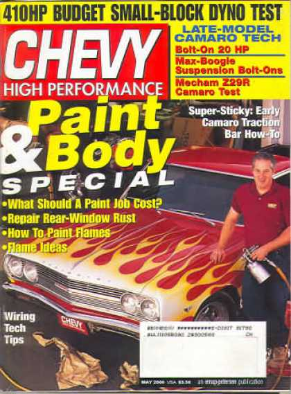 Chevy High Performance - May 2000