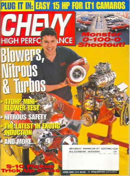 Chevy High Performance - June 2000