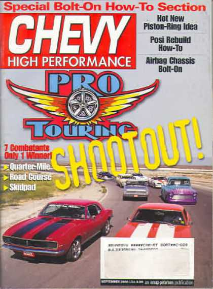Chevy High Performance - September 2000