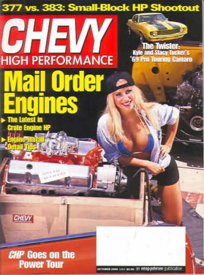 Chevy High Performance - October 2000