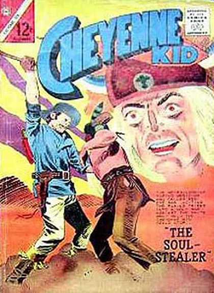 Cheyenne Kid 48 - The Soul Stealer - Indian - Cowboy - Desert - Blue Shirt
