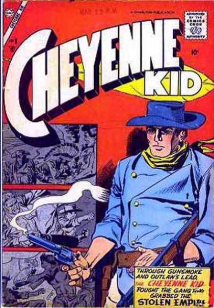 Cheyenne Kid 8 - Gun - Hat - Cowboy - Stolen Empire - Smoke