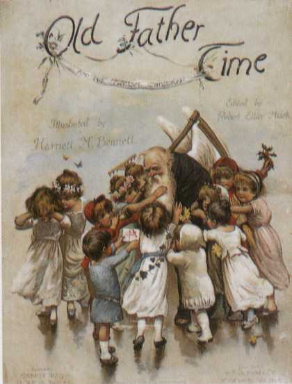 Children's Books - Old Father Time (1880s)