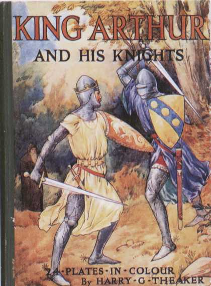 Children's Books - King Arthur and His Knights (1920s)