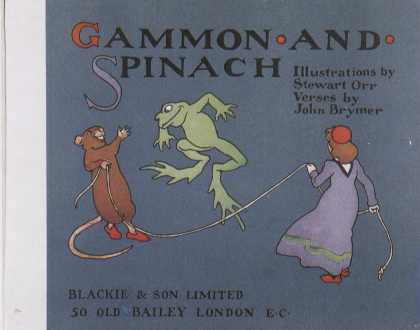 Children's Books - Gammon and Spinach (1900s)