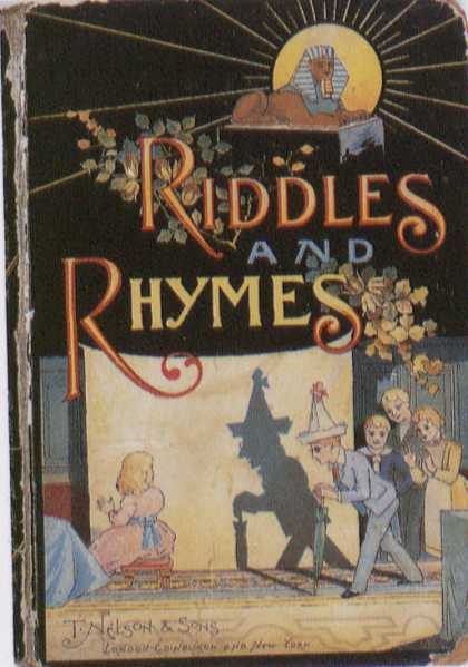 Children's Books - Riddles and Rhymes (1890s)