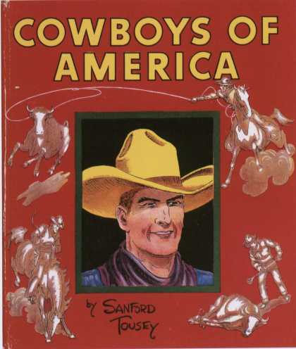 Children's Books - Cowboys of America (1930s)