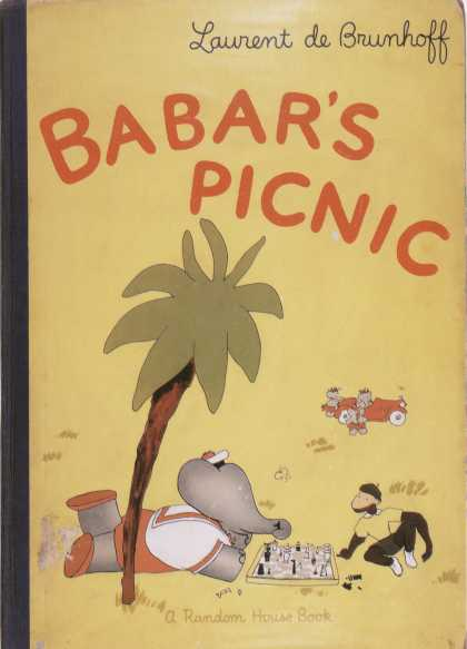 Children's Books - Barbar's Picnic (1940s)
