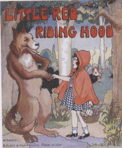 Children's Books - Little Red Riding Hood