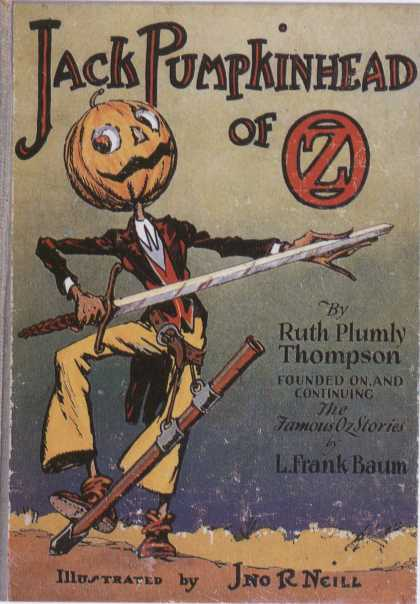 Children's Books - Jack Pumpkinhead of Oz
