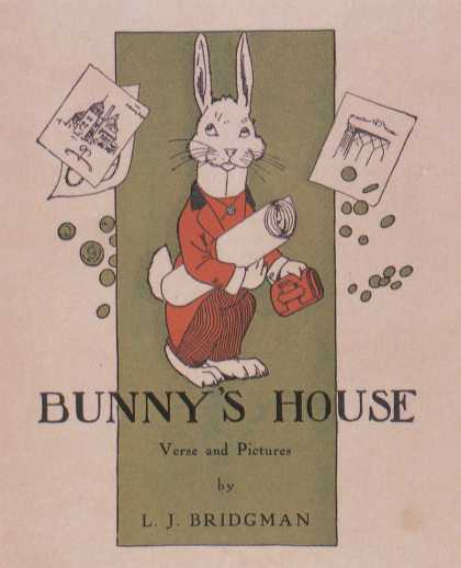 Children's Books - Bunny's House (1900s)