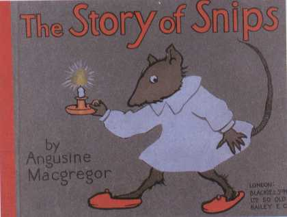Children's Books - The Story of Snips (1910s)