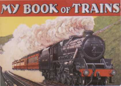 Children's Books - My Book of Trains (1930s)