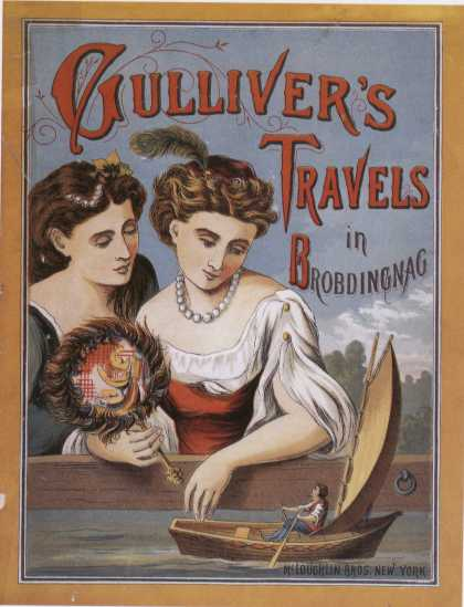 Children's Books - Gulliver's Travels (1880s)