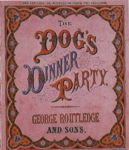 Children's Books - The Dog's Dinner Party (1870s)
