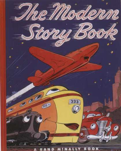 Children's Books - The Modern Story Book (1950s)