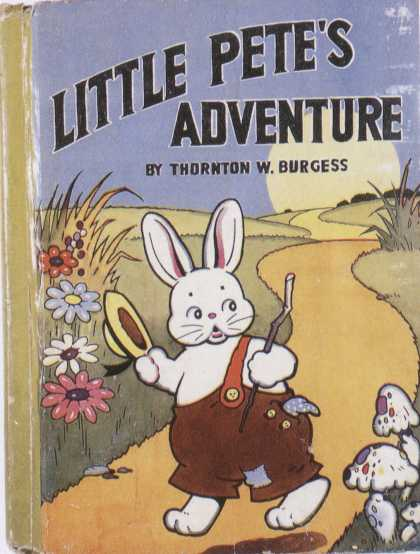 Children's Books - Little Pet's Adventure (1940s)
