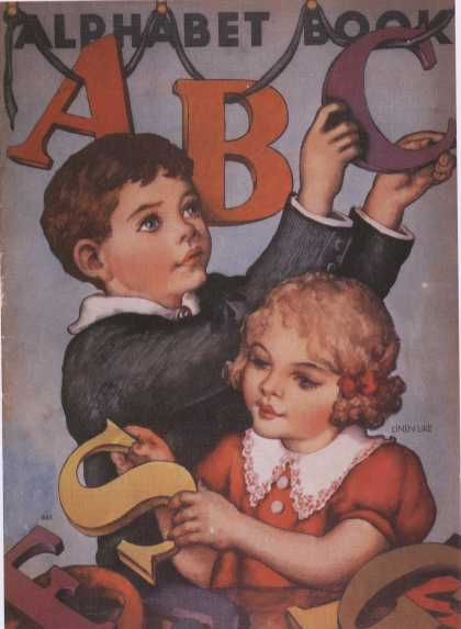 Children's Books - Alphabet Book (1930s)