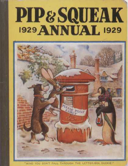 Children's Books - Pip & Squeak Annual 1929