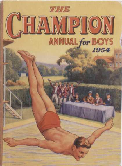 Children's Books - The Champion: Annual for Boys 1954