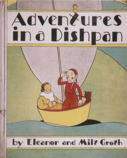 Children's Books - Adventures in a Dishpan (1930s)
