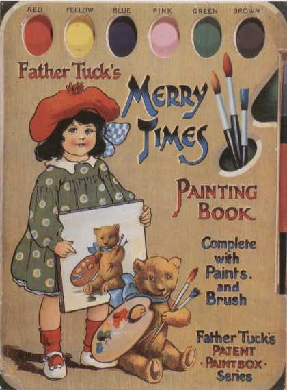 Children's Books - Father Tuck's Merry Times (1910s)
