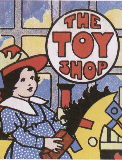 Children's Books - The Toy Shop (1900s)