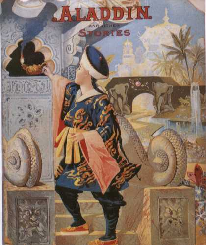 Children's Books - Aladdin and Other Stories (1890s)